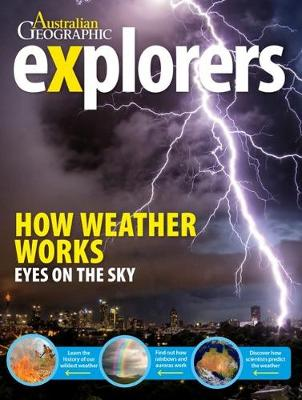Explorers: How Weather Works book