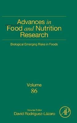 Biological Emerging Risks in Foods: Volume 86 book