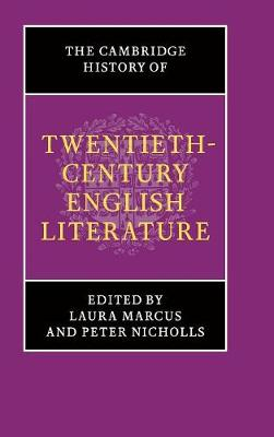 Cambridge History of Twentieth-Century English Literature book