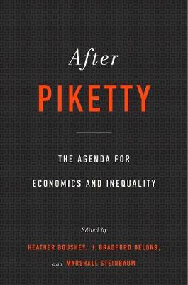 After Piketty by Heather Boushey