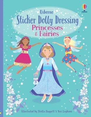 Sticker Dolly Dressing by Fiona Watt