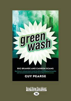 Greenwash by Guy Pearse