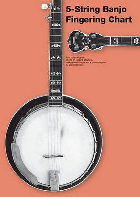 5-String Banjo Fingering Chart by David Harrison