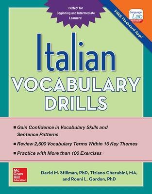Italian Vocabulary Drills by David Stillman