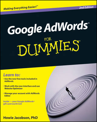 Google AdWords For Dummies by Howie Jacobson