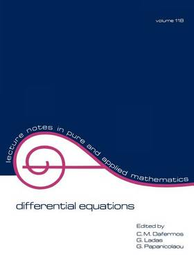 Differential Equations by C. M. Dafermos