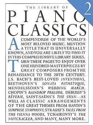 Library Of Piano Classics Book 2 book