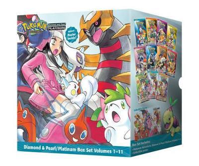 Pokemon Adventures Diamond & Pearl / Platinum Box Set by Satoshi Yamamoto
