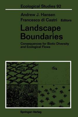 Landscape Boundaries by Andrew J. Hansen