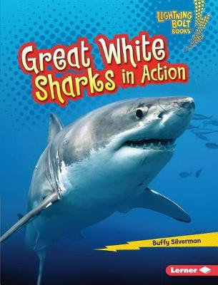 Great White Sharks in Action by Buffy Silverman