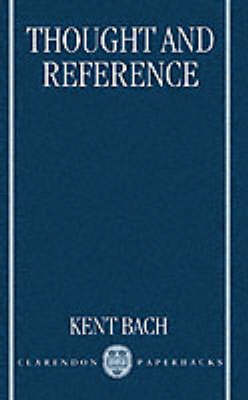 Thought and Reference book