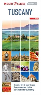 Insight Guides Flexi Map Tuscany by Insight Guides