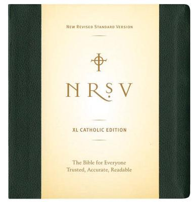NRSV XL Bible Catholic Edition (Green) by Thomas Nelson