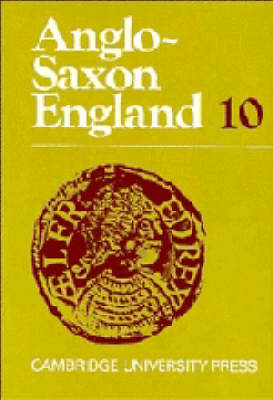 Anglo-Saxon England: Volume 10 by Peter Clemoes