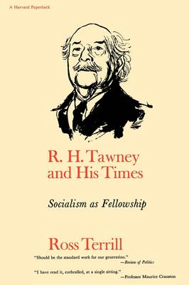 R H Tawney & His Times - Socialism as Fellowship by Ross Terrill