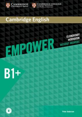 Cambridge English Empower Intermediate Workbook without Answers with Downloadable Audio by Peter Anderson