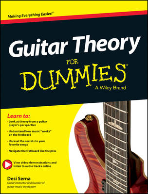 Guitar Theory for Dummies book