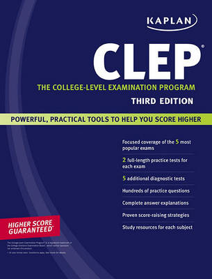 Kaplan CLEP: The College-level Examination Program by Anaxos Inc.