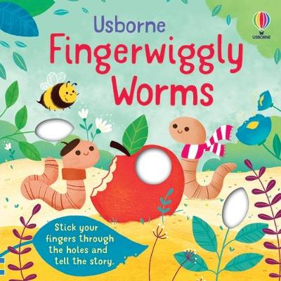 Fingerwiggly Worms book
