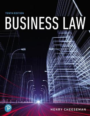 Business Law by Henry R. Cheeseman