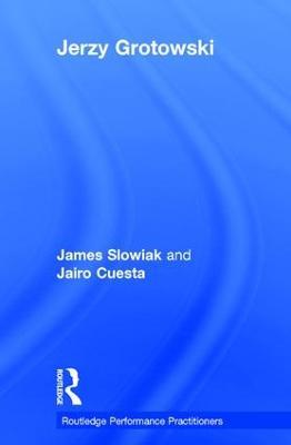 Jerzy Grotowski book