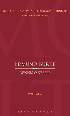 Edmund Burke by Dennis O'Keeffe
