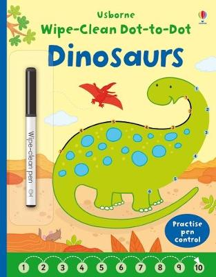 Wipe-Clean Dot-to-Dot Dinosaurs book