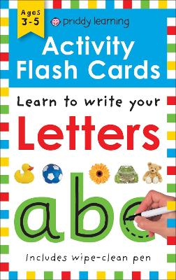 Activity Flash Cards Letters by Roger Priddy