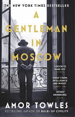 Gentleman in Moscow book
