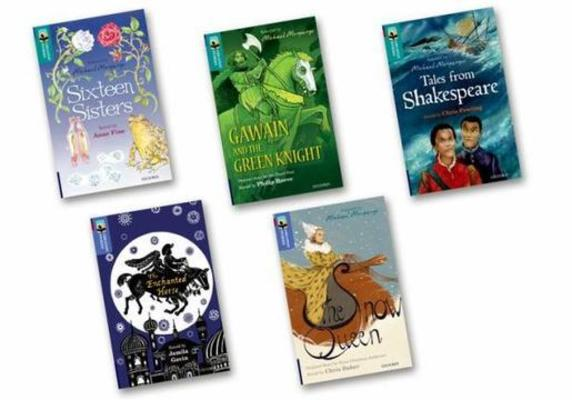 Oxford Reading Tree TreeTops Greatest Stories: Oxford Level 16-17: Mixed Pack by Anne Fine