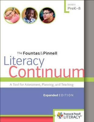 Fountas & Pinnell Literacy Continuum book