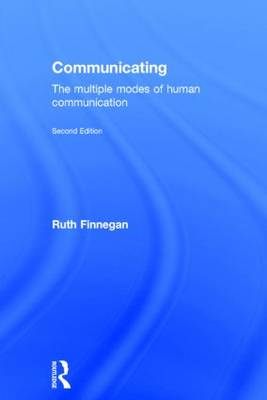 Communicating by Ruth Finnegan