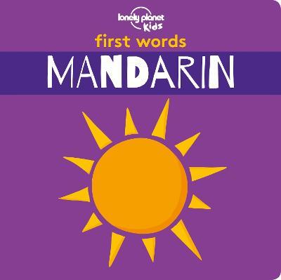First Words - Mandarin book