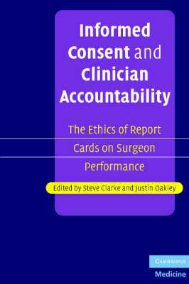 Informed Consent and Clinician Accountability book
