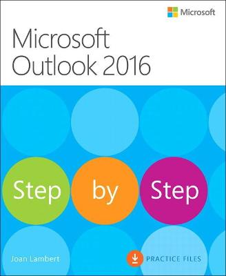 Microsoft Outlook 2016 Step by Step book