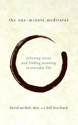 One Minute Meditator book