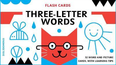 Bright Sparks Flash Cards: Three-letter Words by Dominika Lipniewska