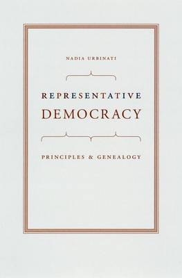 Representative Democracy by Nadia Urbinati
