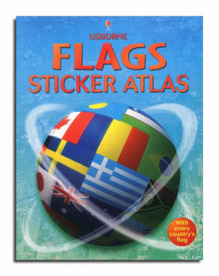 Sticker Atlas Flags by Gillian Doherty
