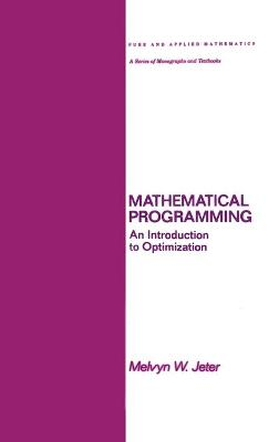 Mathematical Programming by Melvyn Jeter
