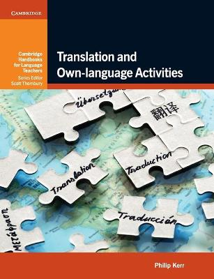 Translation and Own-language Activities book