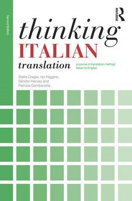 Thinking Italian Translation by Stella Cragie