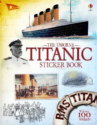 Titanic Sticker Book book