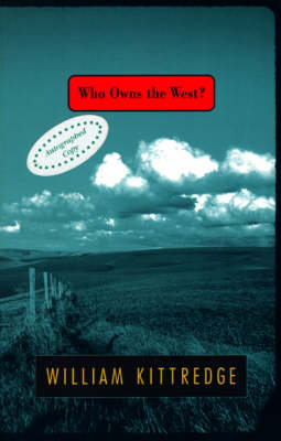 Who Owns the West? book