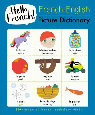 French-English Picture Dictionary book