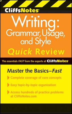 CliffsNotes Writing by Jean Eggenschwiler