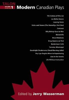 Modern Canadian Plays by Jerry Wasserman