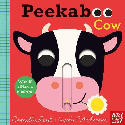 Peekaboo Cow by Ingela P Arrhenius