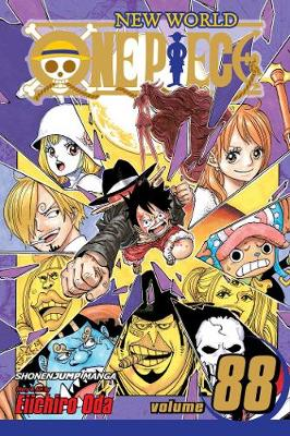 One Piece, Vol. 88 by Eiichiro Oda