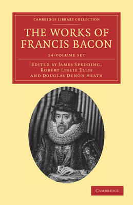 The Works of Francis Bacon 14 Volume Paperback Set by Francis Bacon